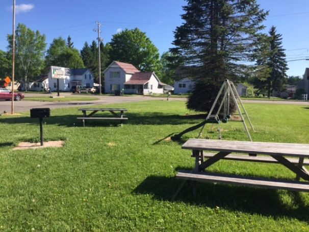Our Picnic Area & Swings